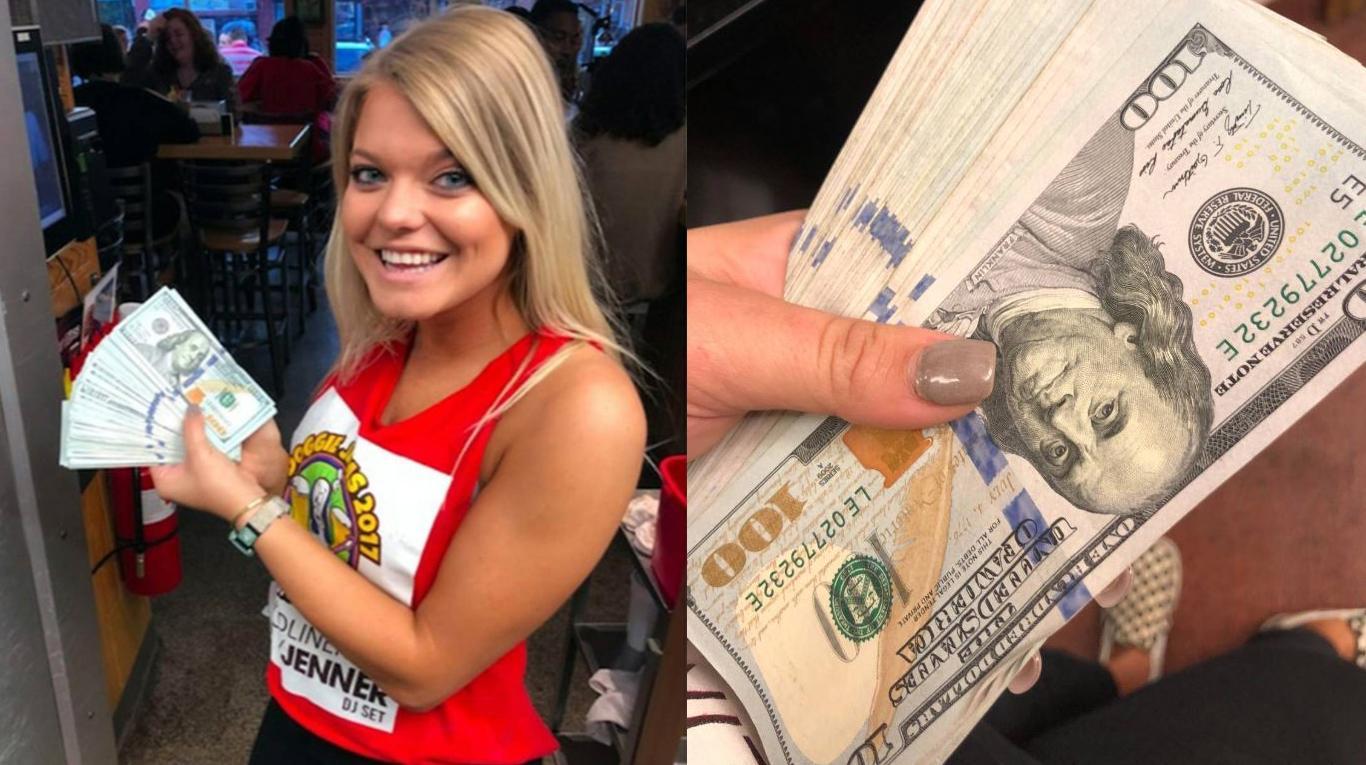mr.beast moza propina - Una moza sirvió dos vasos de agua ¡y le dejaron US$ 10.000 de propina!