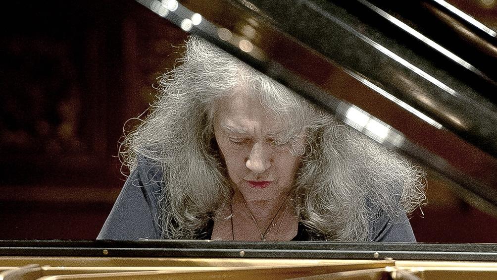 La pianista Martha Argerich, miembro de honor de la Konserthaus de Viena - Télam 2