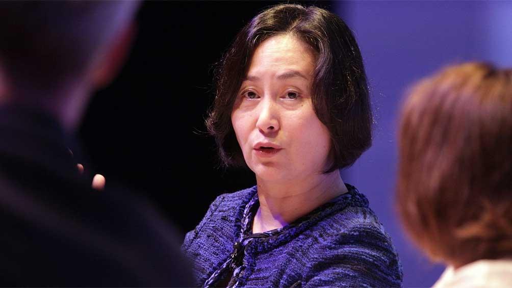 La presidenta del Foro de Economía Global de Turismo, Pansy Ho