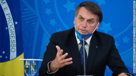 La corte suprema de Brasil permite la investigación del presidente Bolsonaro