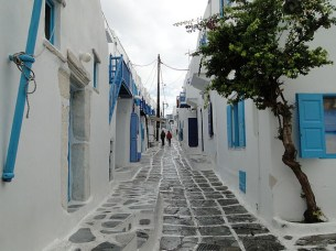 Mykonos Grécia Chora