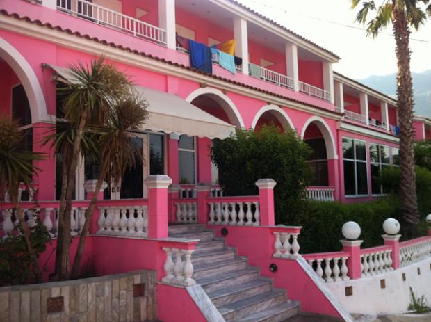 Corfu Grécia Pink Palace