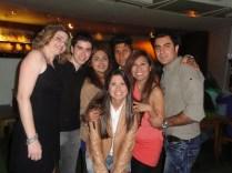 Chris (Brasil - MG), Renato (Brasil - SP), Bernush (Iran), Omid (Iran), Gaby (México), Farid (Iran)