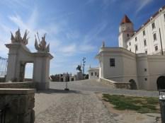 Caminho que leva ao castelo