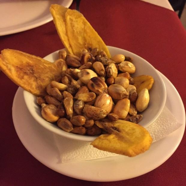 Aperitivo restaurante peruano