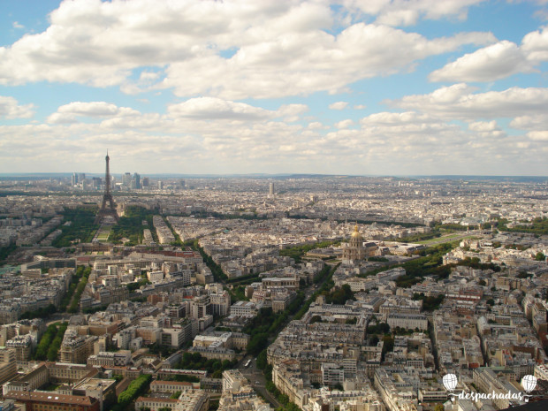 Paris do Alto da Torre Montparnasse