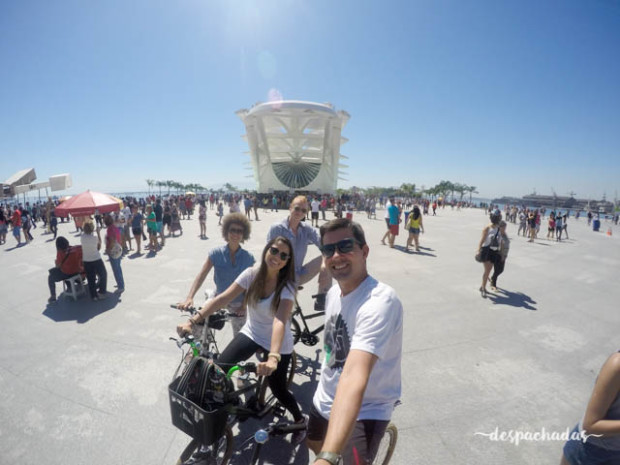 Museu do Amanhã no Passeio de bicicleta no Rio de Janeiro