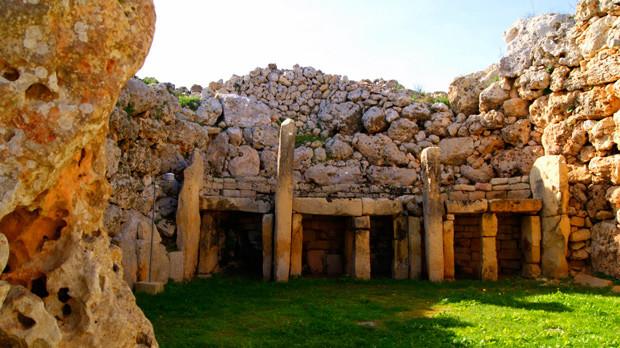 ggantia templos megaliticos gozo malta