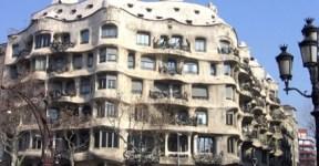 La Pedrera casa Mila, arquitetura Antonio Gaudí Barcelona