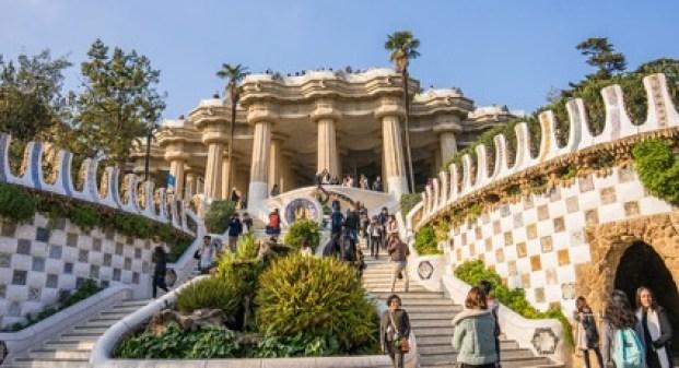 Parque Güell Arquitetura Antonio Gaudi Barcelona