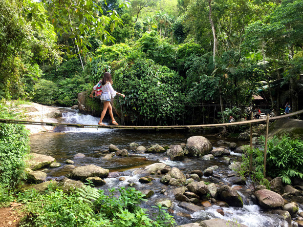 Cachoeira Poço do Tarzan Paraty