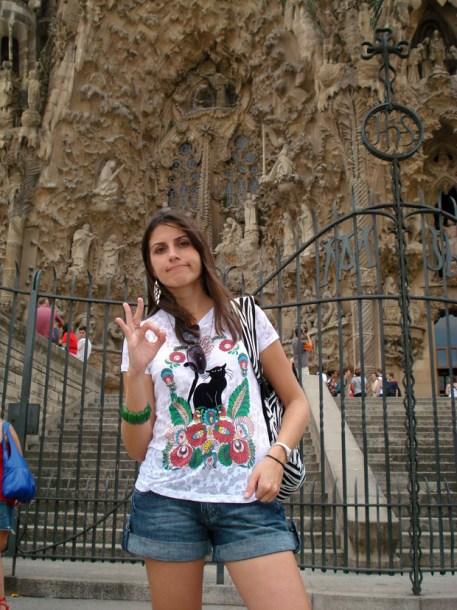 decepções de viagem na Sagrada família em Barcelona