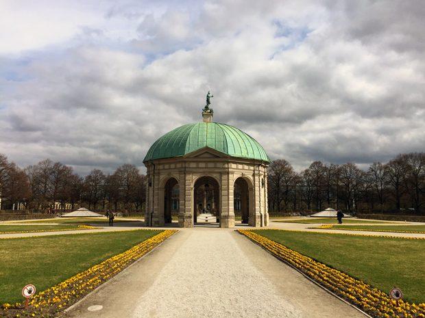Dicas de Munique Hofgarten Jardins da Residenz