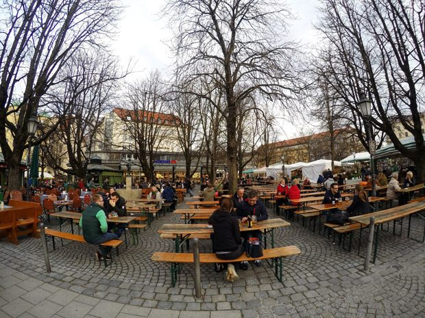 Dicas de Munique Viktualienmarkt