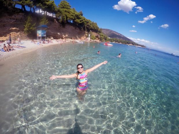 Praia do Chifre Dourado na Croácia