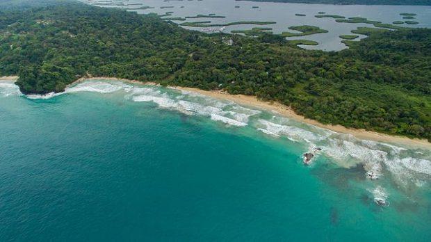 Red Frog Beach em Bocas del Toro, Isla Bastimentos