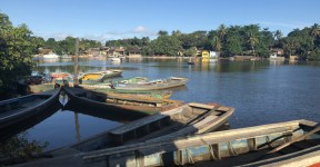 Como chegar em Caraíva.De onde partem as canoas de Nova Caraíva até Caraíva