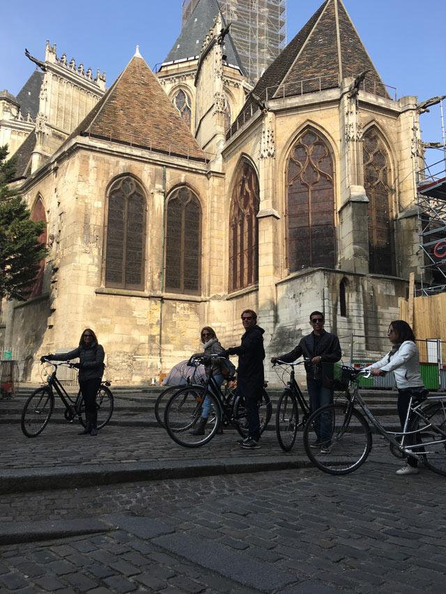 Passeio de bike em Paris pelo centro histórico