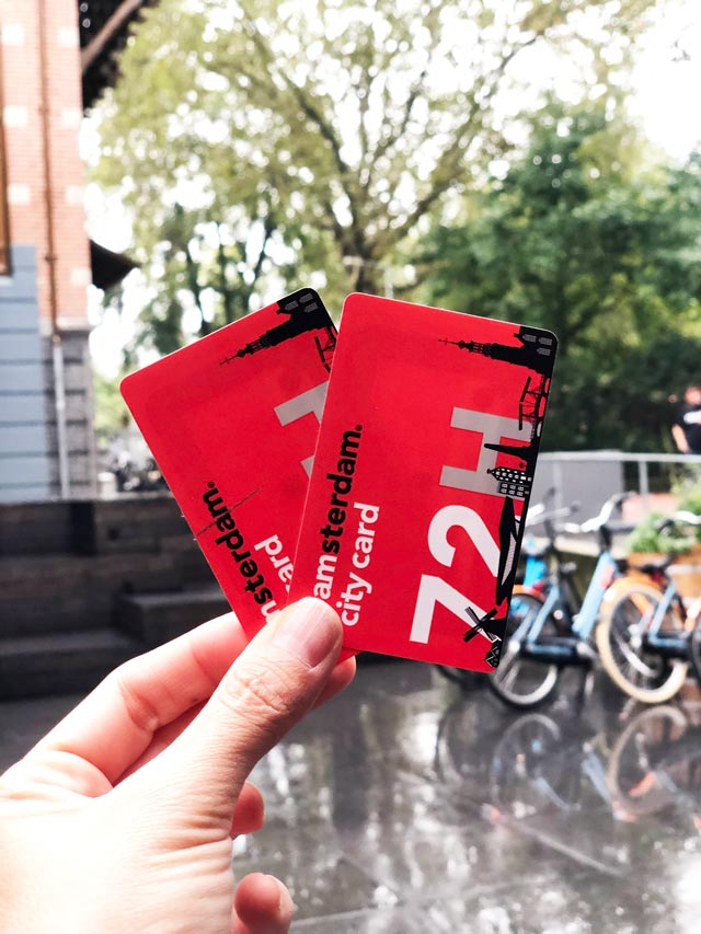 Cartões I Amsterdam City Pass