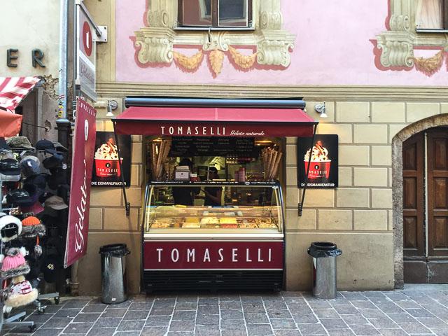 sorveteria em Innsbruck