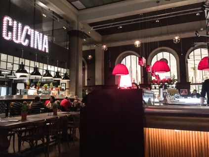 L`Osteria restaurante em Munique