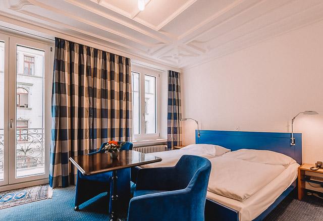 Alpine Hotel. Onde ficar em Lucerna