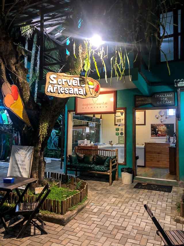 Sorveteria Capim Santo, onde comer em Itacaré, Bahia