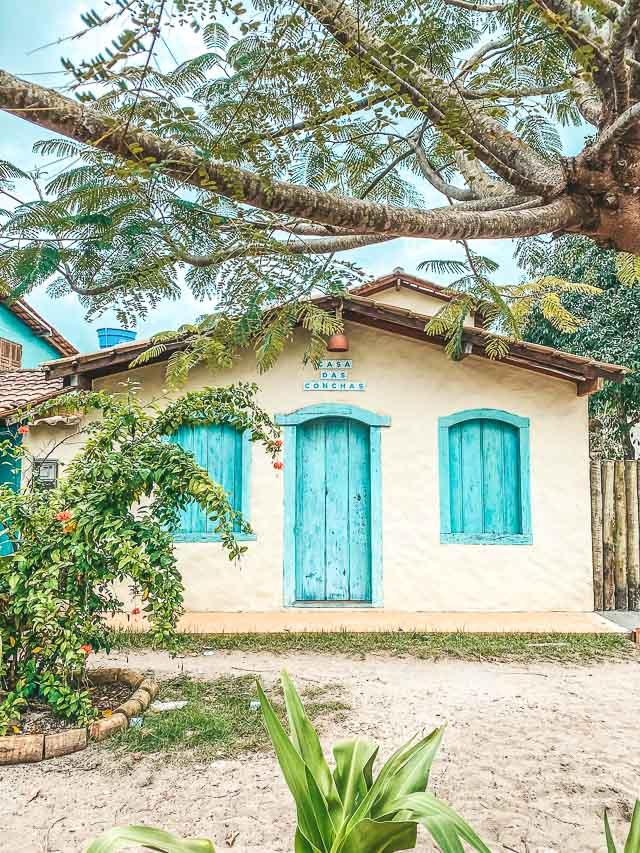 Onde ficar em Caraíva: Pousada Casa das Conchas -