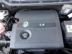 check engine light-problem-skoda fabia mk1-engine cover