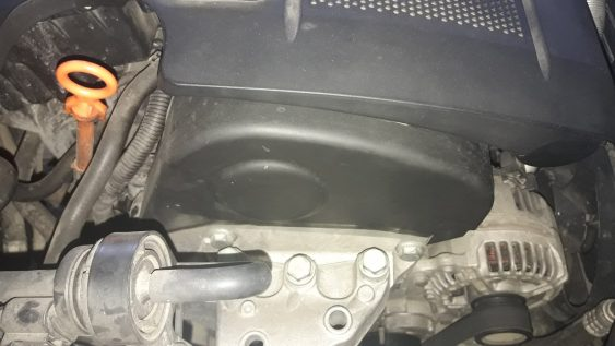 signs-of-a-bad-water-pump-coolant-leaks-under-timing-belt-cover