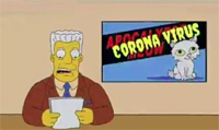 This image has an empty alt attribute; its file name is simpsons-coronavirus.jpg