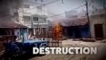Muslim Neighborhood Set On Fire in West Bengal (Video)