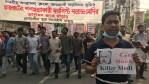 'Go Back Modi': Activists Protest Indian PM's Visit to Bangladesh