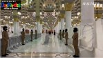 Female Officers Dressed in Black Berets Help Pilgrims at the Prophet Mosque in Madinah