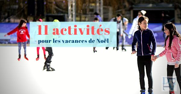 11 activités pour les enfants pendant les vacances de Noël