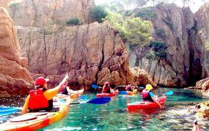 Kayaks para despedidas y grupos