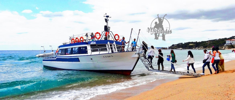 Barco para fiestas Platja d'Aro