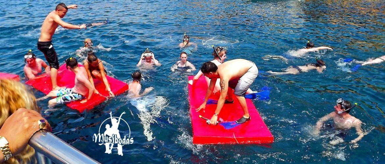 Fiestas barco Platja d'Aro