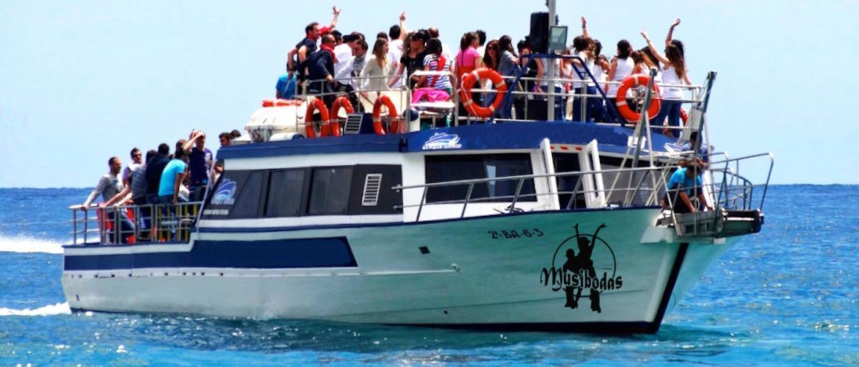 Platja d'Aro barco despedidas