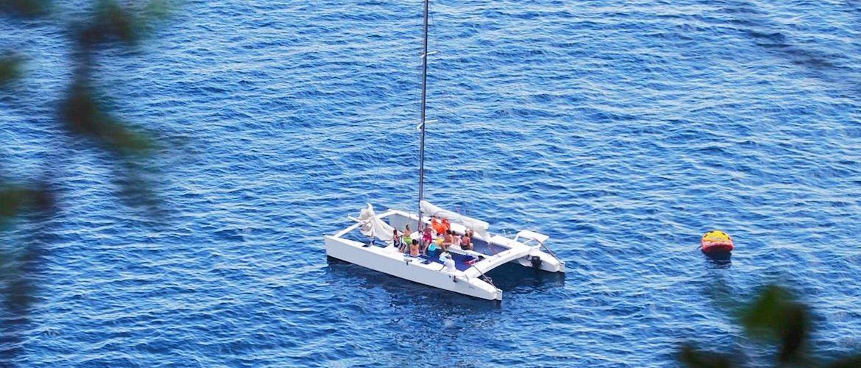 Platja d'Aro catamarán alquiler para despedidas