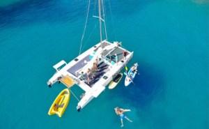 Alquiler de catamarán en Platja d'Aro