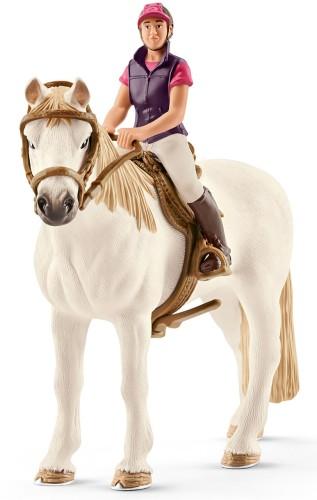 Amateur Ruiter met Paard Schleich (42359)