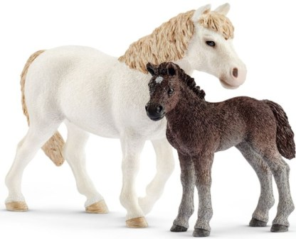 Pony en veulen Schleich (42423)