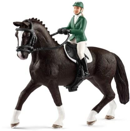 Springruiter met Paard Schleich (42358)