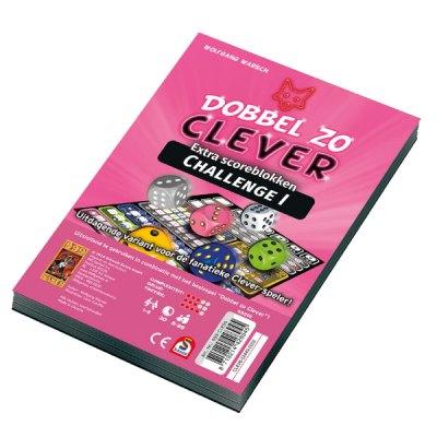 Scoreblok_Dobbel_zo_Clever_Challenge