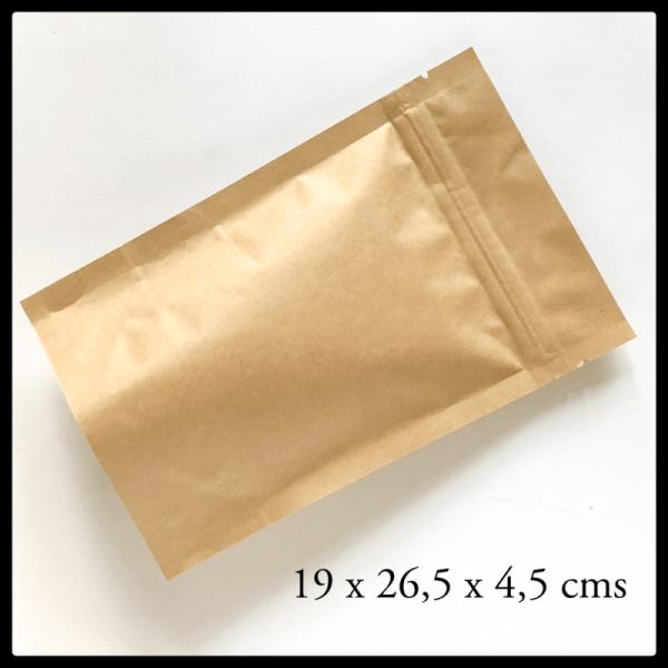 Bolsa Papel Kraft Cafe Num 500