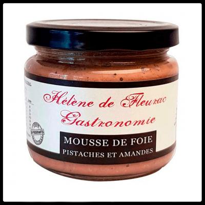 Mousse de Foie Pistachos y Almendras