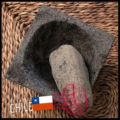 Mortero de Piedra Mapuche