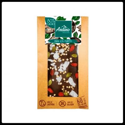 Chocolate Andino Energético
