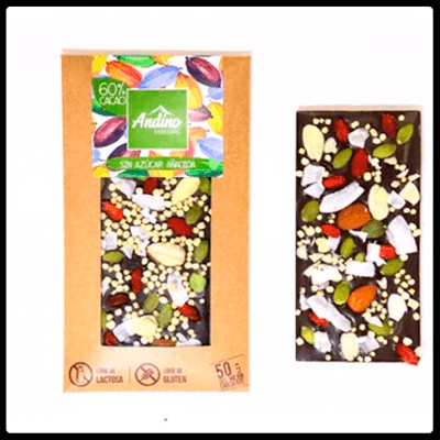 Chocolate Andino Sin Azucar